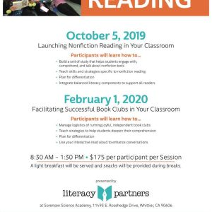 Launching Nonfiction Reading in Your Classroom
